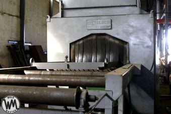 Автоматическая дробеструйная линия тоннельного типа